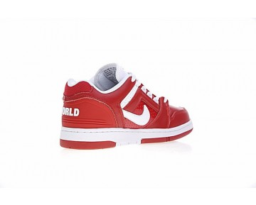 Rot/Weiß Aa0871-101 Schuhe Herren Supreme X Nike Sb Air Force 2 Low Sb