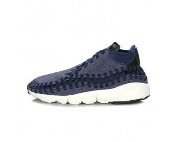 857874-400 Schuhe Nike Air Footscape Woven Chukka Se Obsidian/Schwarz-Sail-Schwarz Herren