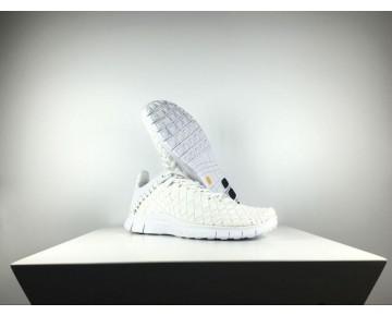 Weiß Herren Nike Free Inneva Woven Tech Sp 705797-110 Schuhe