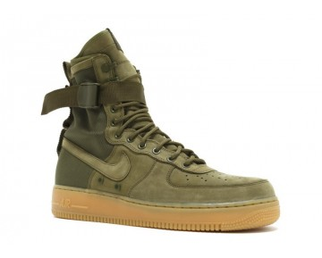 Unisex 859202-339 Nike Special Forces Air Force 1 Schuhe Faded Olive/Faded