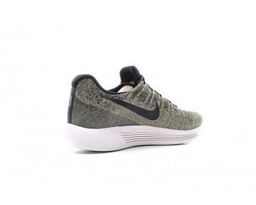 Nike Lunarepic Low Flyknit 2 Herren 863779-300 Olive Grün/Weiß Schuhe