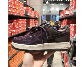 Nike Women'S Air Force 1 Se Premium Schuhe Lila Blau Ah6827-600 Damen