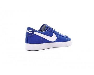 Schuhe Nike Blazer Low X Comme Des Garcons Cdg Königlich Blau/Weiß 633699-009 Unisex