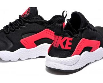 Herren Rot Weiß Schwarz Schuhe Nike Air Huarache Ultra 819151-008