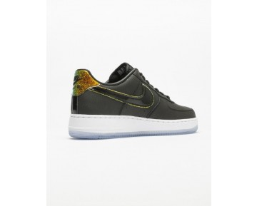 Schwarz Multicolor Unisex Schuhe Nike Wmns Air Force 1 '07 Premium 616725-007
