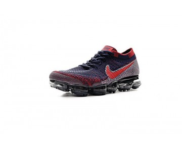 Schuhe Herren Nike Air Vapormax Flyknit 849558-006 Winr Rot/Tief Blau/Schwarz