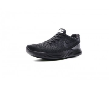 Schwarz Herren  Nike Lunarepic Low Flyknit 2 Schuhe 863779-003