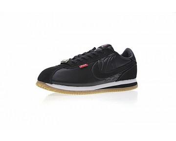 Mister Cartoon X Nike Cortez Basic Qs Schwarz Aa4875-001 Schuhe Unisex