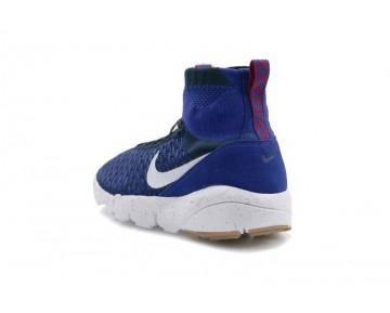 Königlich Blau/Dunkel Grau Nike Air Footscape Magista Flyknit F.C.Ep Herren Schuhe 816560-400