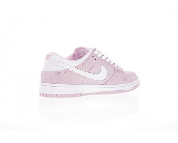 Prism Rosa Weiß 309601-604 Unisex Schuhe Nike Dunk Low Gs