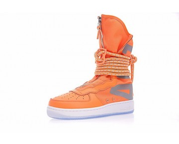 Schuhe Aa3965-001 Schwarz/Braun Unisex Nike Wmns Sf Air Force 1 High