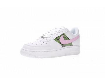 Jungle Weiß Rosa Schuhe 315115-112 Unisex Born Originals Nike Air Force 1