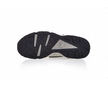 Nike Air Huarache Run Premium 704830-200 Gold/Rice Gelb/Lake Blau Schuhe Herren