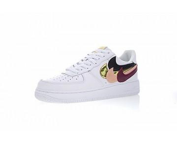 Weiß Unisex John Geiger Geon X The Shoe Surgeon X Nike Air Force 1 Low 315121-115 Schuhe