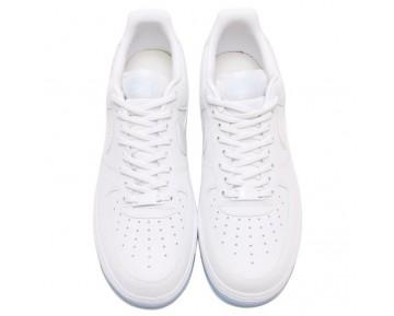 Nike Wmns Air Force 1 '07 Premiume Unisex Weiß,Blau,Multicolor 616725-105 Schuhe