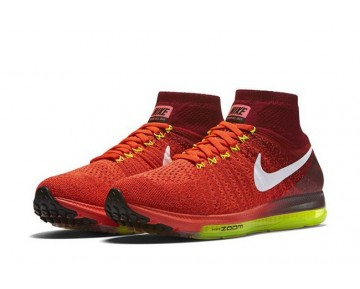 Rot/Weiß 844134-616 Herren Nike Air Zoom All Out Flyknit Schuhe