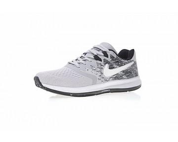 Schuhe Nike Zoom Winflo 4 Herren Licht Grau/Weiß/Schwarz 898466-003