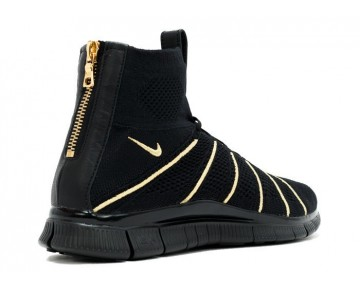 Schuhe 834906-007 Schwarz & Metallic Gold Herren Olivier Rousteing X Nikelab Free Mercurial Flyknit