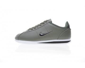 938343-903 Nike Cortez Basic Jewel Qs Schuhe Herren Army Grün/Schwarz