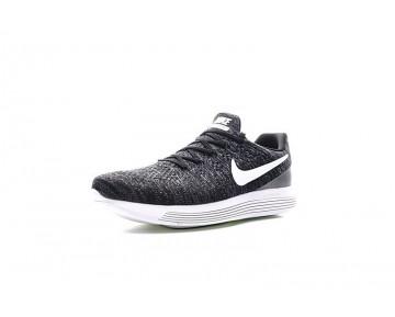 Schuhe  Nike Lunarepic Low Flyknit 2 Herren Schwarz/Weiß 863779-001