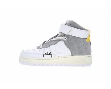 Weiß/Grau/Gelb Unisex Schuhe A Cold Wall X Nike Air Force 1 Acw Samuel Ross Af1 Aq5644-991