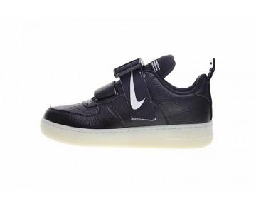 Nike Komyuter Kmtr Air Force 1 Schwarz Weiß Aj7313-001 Schuhe Herren