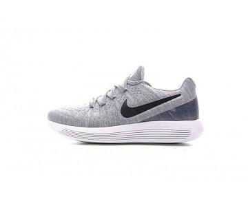 Grau/Schwarz  Nike Lunarepic Low Flyknit 2 Schuhe 863779-002 Herren