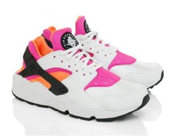 Nike Air Huarache Og Wmns 634835-102 Schuhe Weiß Rosa Herren