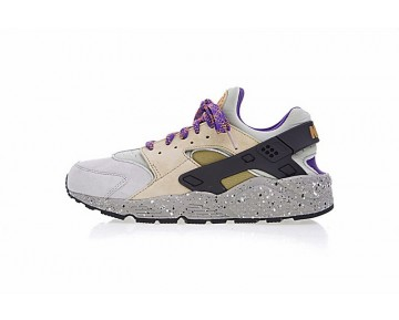 Nike Air Huarache Run Premium 704830-200 Gold/Rice Gelb/Lake Blau Schuhe Herren
