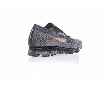 Schuhe Unisex Nike Air Vapormax Flyknitexplorer Dark 849558-010 Schwarz Gold