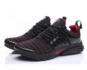 Nike Air Presto Qs Schwarz//Rot 347635-061 Herren Schuhe