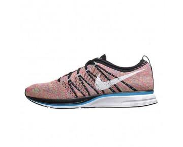 532984-014 Herren Schuhe Multicolor & Schwarz/Weiß-Blau Glow-Volt Nike Flyknit Trainer