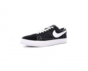 Schwarz/Weiß Schuhe Nike Blazer Low X Comme Des Garcons Cdg Unisex 633699-009