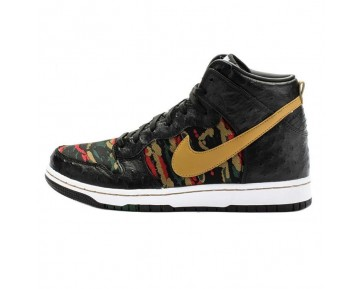 "Herren 716714-002 Nike Dunk Cmft Prm Qs""Ostrich Schuhe Tiger Camouflage"