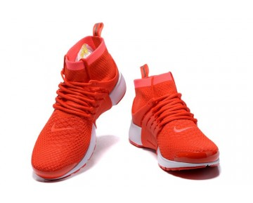 Total Crimson/Total Crimson/Weiß/Rosa 835570-800 Unisex Schuhe Nike Air Presto Flyknit Ultral