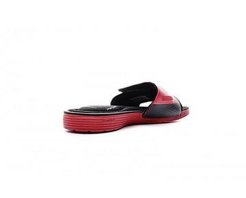 Unisex Schuhe Rot/Schwarz Nike Solarsoft Comfort Slide 705513-610