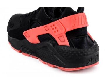 Schwarz/Rot Unisex Nike Air Huarache Schuhe 700878-006
