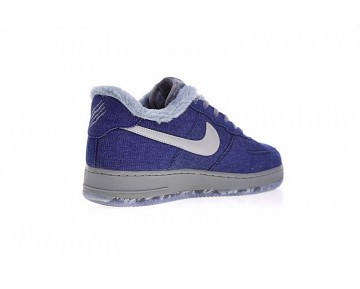 Unisex Denim/Wolf Grau-Ice Blau Schuhe Nike Air Force 1 Pinnacle Qs Werewolf Aj4234-400