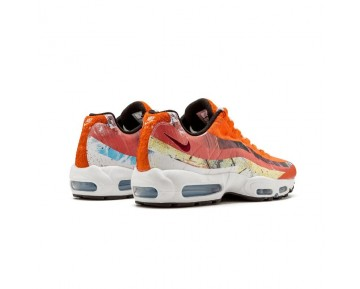 Cayenne,Maroon Schuhe Herren 872640-600 Dave White X Size? X Nike Air Max 95