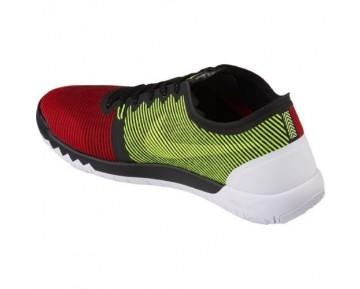 Herren Schwarz/Team Rot/Universität Rot/Volt Nike Free Trainer 3.0 V4 749361-066 Schuhe