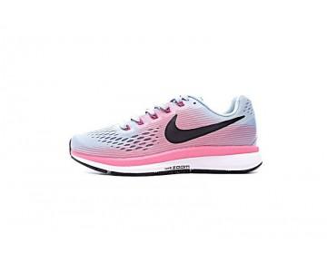 Damen 880560-406 Nike Air Zoom Pegasus Blau/Rosa/Weiß Schuhe