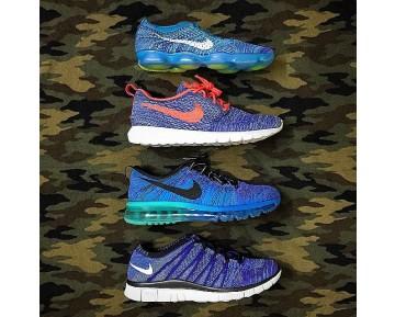 698616-400 Schuhe Unisex Blau Lagoon Nike Wmns Flyknit Zoom Aglity