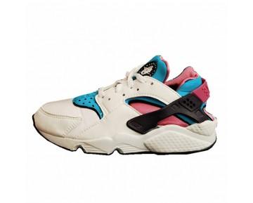 Unisex Schuhe Nike Air Huarache Weiß/Lila/Blau