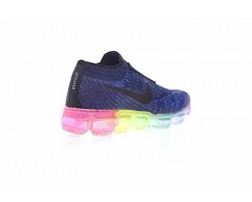 Schuhe Cdg X Nike Air Vapormax Tief Blau/Rainbow Kinder 883275-400