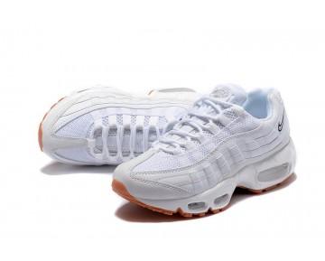 Damen Schuhe Nike Wmns Air Max 95 Essential Weiß/Braun 807443-061