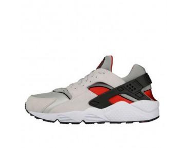 Nike Air Huarache 318429-002 Schuhe Herren Weiß/Grau