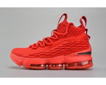 897649-600 Schuhe Nike Lebron 15 Herren Rot/Schwarz