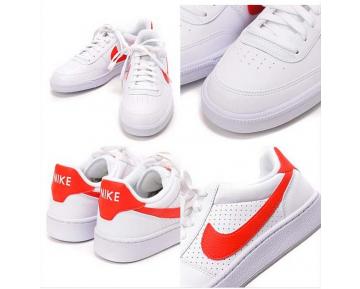 654495-160 Nike Grand Terrace Sl Schuhe Weiß/Challenge Rot Unisex