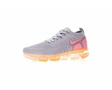 Unisex Schuhe Nike Air Vapormax Flyknit Licht Grau/Orange/Rosa 780003-852