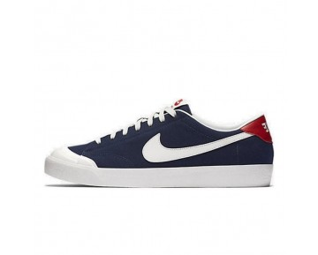 806306-401 Unisex Nike Sb Zoom All Court Cory Kennedy Mitternacht Marine Schuhe